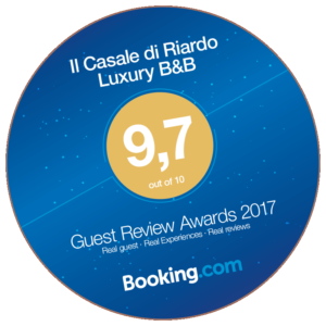 Il Casale di Riardo. Booking Guest Review Awards 2017.