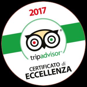 Il Casale di Riardo. Tripadvisor certificato di eccellenza 2017.