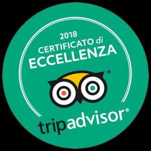 Il Casale di Riardo. Tripadvisor certificato di eccellenza 2018.